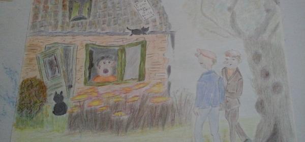 Klaas en Egbert bezoeken oom Teun